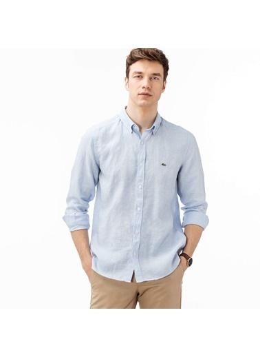 Lacoste Erkek  Gömlek CH4990T.001 Mavi